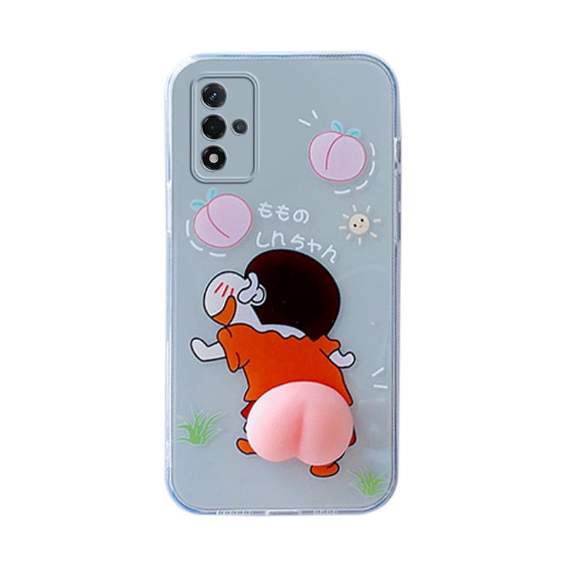 oppoa93s5g pehm00搞怪桃子软手机壳