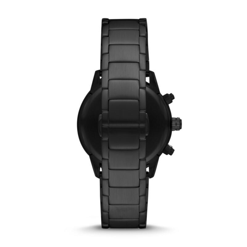 Armani阿玛尼酷炫黑色质感大气休闲时尚男士腕表AR11242