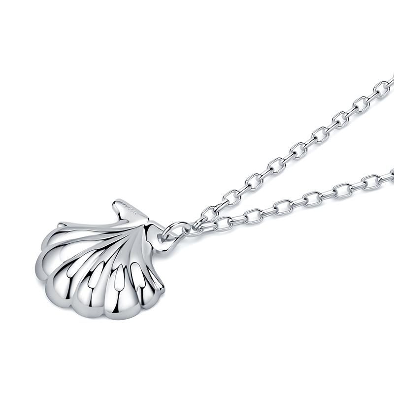 张艺兴原创设计感贝壳项链女锁骨链轻奢小众设计吊坠颈链 LAYCIGA