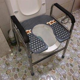 老人坐便椅厕所增高器多功能蹲坐辅助稳固产后垫子便桶坐厕凳带盖