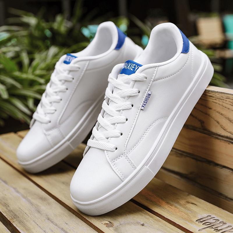 2020新款春季男鞋百搭运动鞋轻便鞋子潮男士小白鞋韩版潮流板鞋
