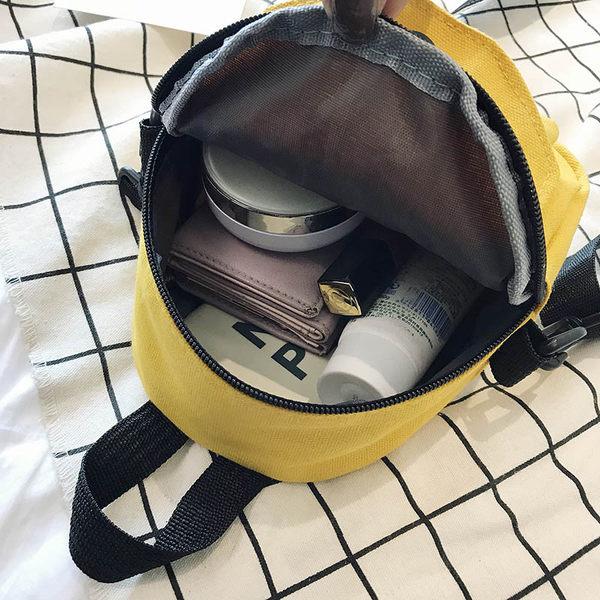 帆布包女斜挎韩国百搭ins日森系原宿女学生单肩水桶包可爱小包包S - 图3