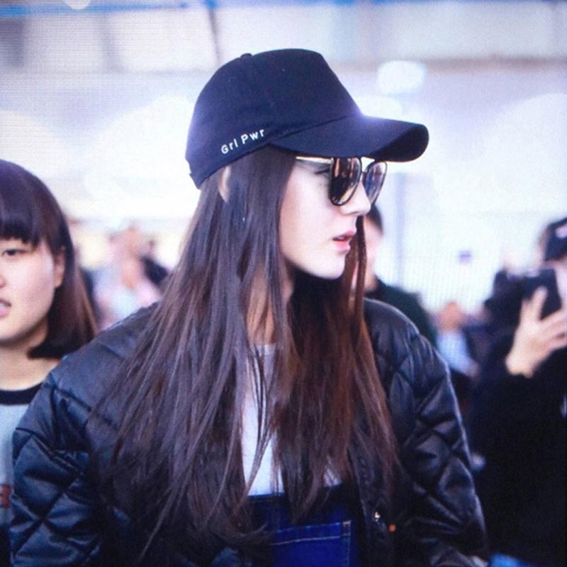 迪丽热巴同款帽子女鸭舌帽女适合脸大棒球帽韩版ins潮牌夏季黑色