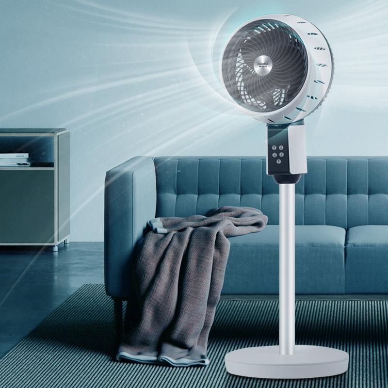 新低!台地两用,平衡室温防感冒:澳柯玛 空气循环扇 KYT-18KA033