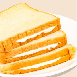 千丝软吐司面包整箱懒人速食蛋糕点休闲网红零食品早餐小吃的美食