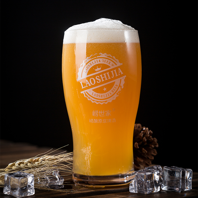 20 斤 崂世家青岛精酿原浆啤酒桶装特产大桶全麦白啤高度 扎啤 10L