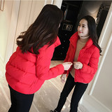 Net red winter cotton women 2019 new short winter coat thick student bread short jacket tide
