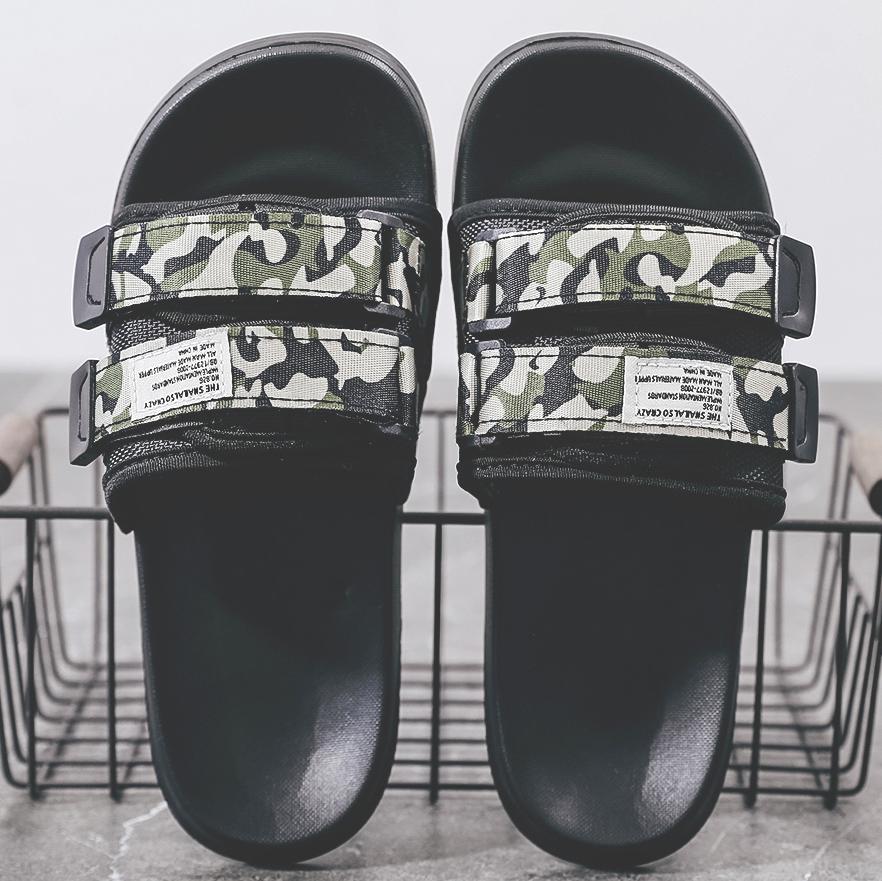 拖鞋男夏防滑软底外穿休闲沙滩鞋时尚室外凉拖鞋情侣鞋一字拖潮流