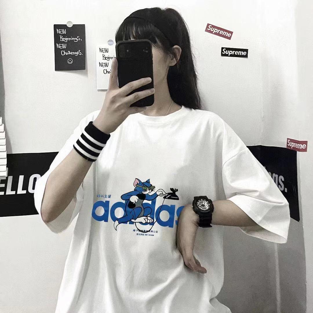 明星同款纯棉纯色短袖t恤男士打底衫学生韩版潮流圆领半袖T恤