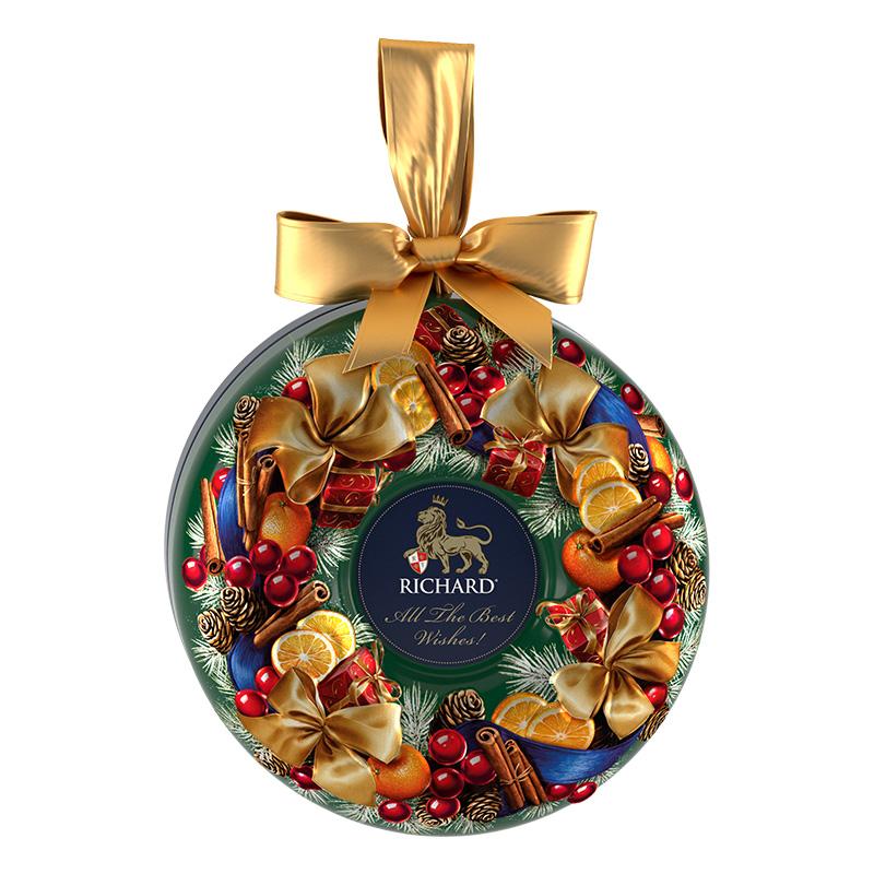 新年礼盒装调味散装茶丁香橘皮英式进口红茶特级 Richardte 瑞查得