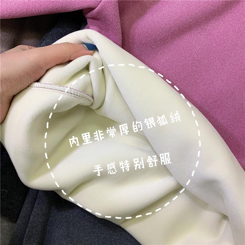 【官方直营】加绒加厚阳离子2.0打底衫女半高领2019自发热保暖衣