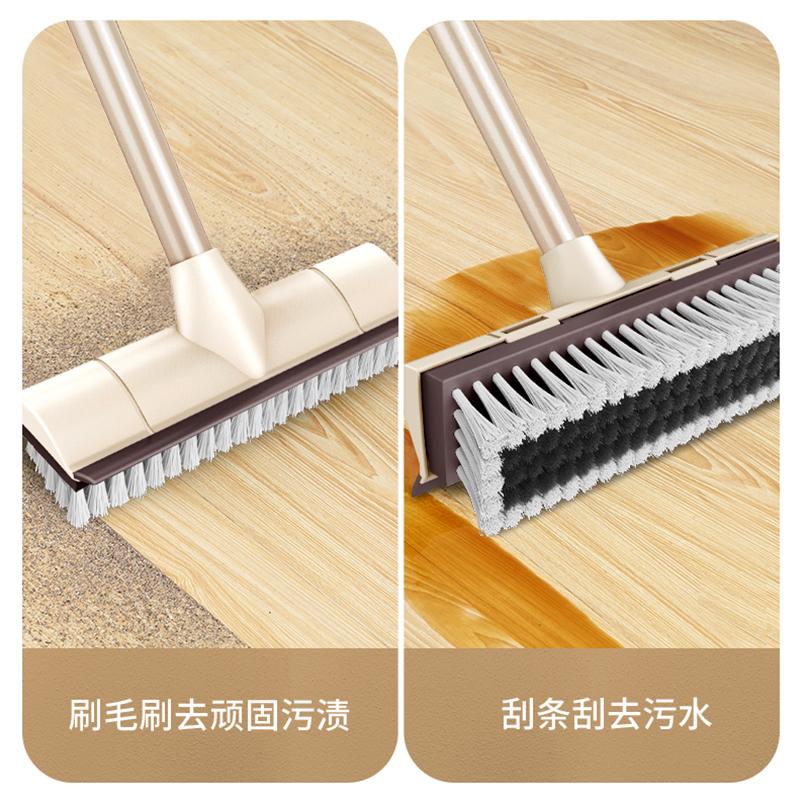 卫生间刷地刷子清洁瓷砖洗地长柄硬毛浴室刷厕所地板刷大刷地神器