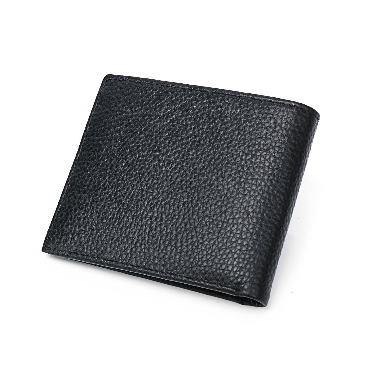 9133785701 凯洛恩男士驾驶照多卡位真皮短钱包 . 卡罗纹