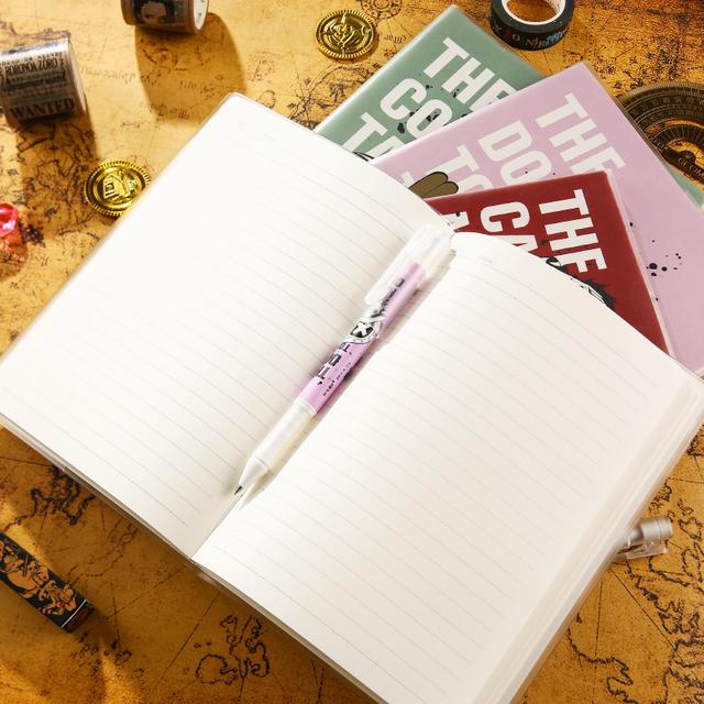九木杂物社晨光航海王系列胶套本学生动漫记事笔记本A5/B5