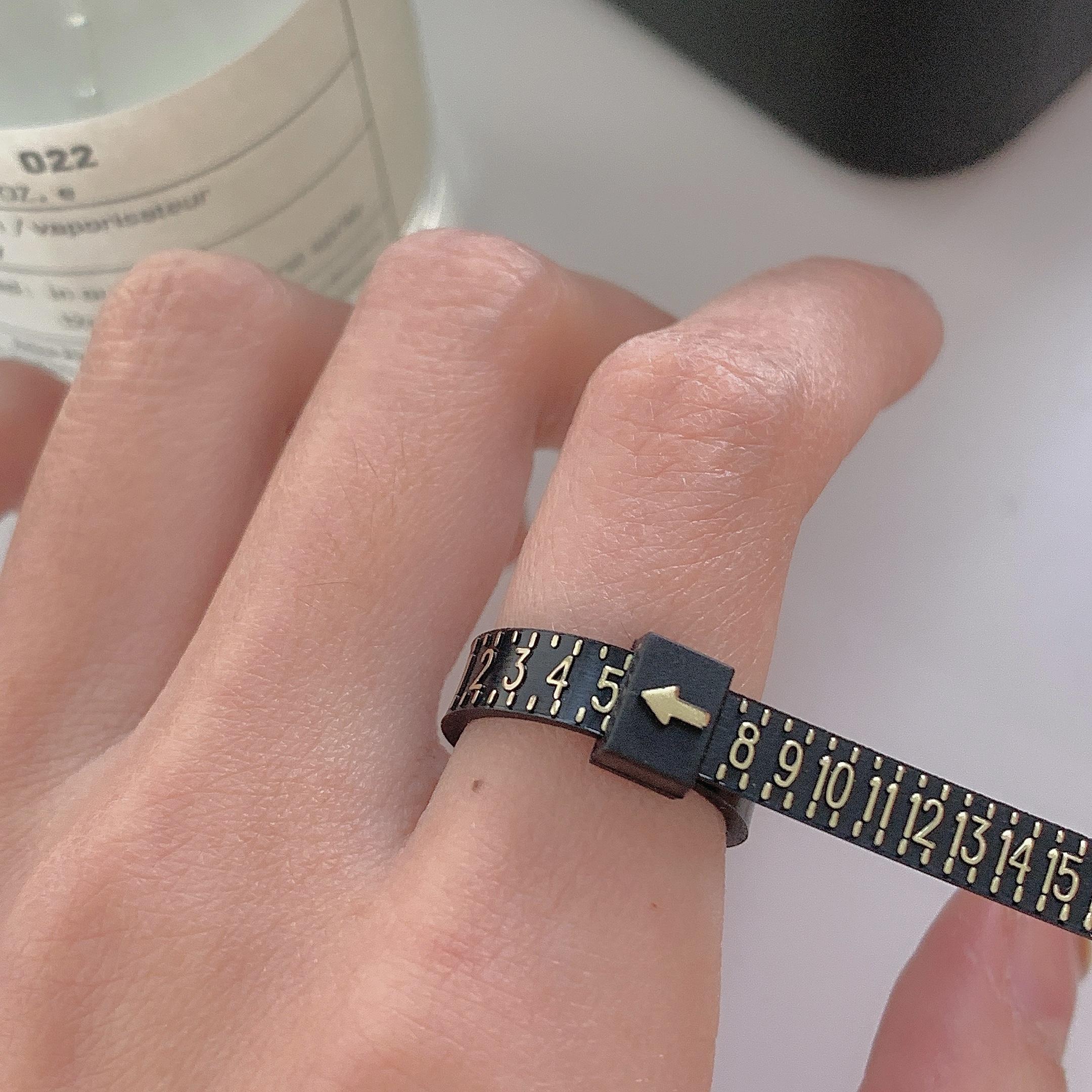 买戒指犯愁   宝宝必入 超实用 戒围测量工具 啥工具都没有