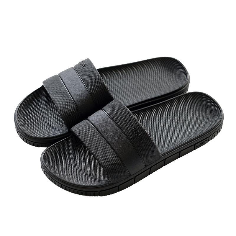 凉拖鞋男夏家居家用防滑浴室洗澡软厚底夏天室内外穿耐磨男士拖鞋