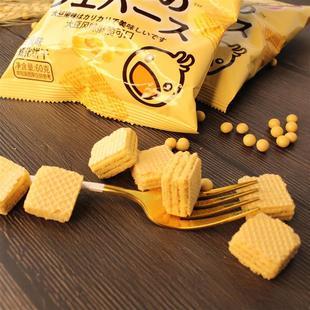 【拍五件更实惠!】咔啰卡曼日式豆乳威化饼