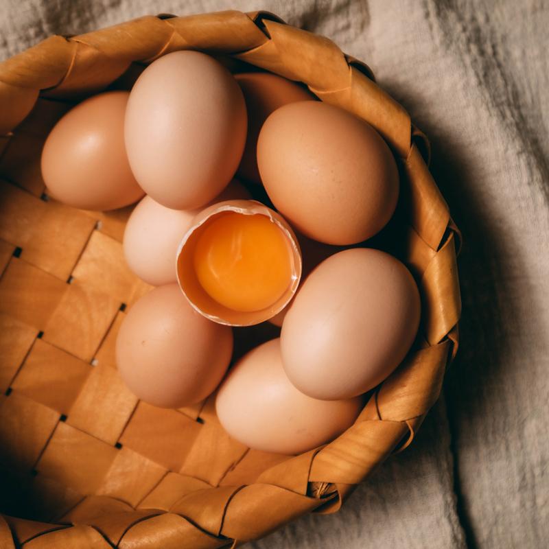新鲜土鸡蛋40枚正宗农家散养无菌优级无腥味谷物喂养农村自养小鸡