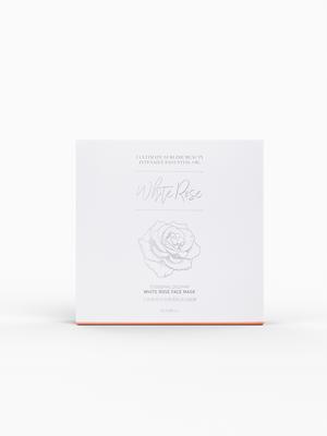 乙新美学白玫瑰保湿面膜 补水滋润改善肤质提亮肤色涂抹式面膜 - 图3