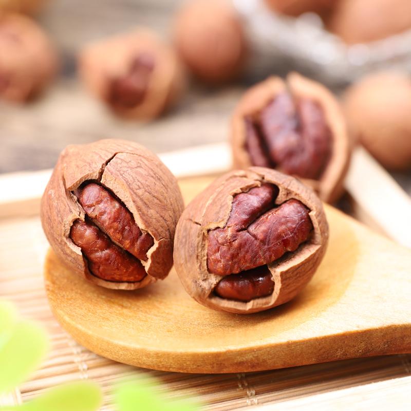 袋装山核桃仁坚果零食 2 克 500 年新货临安薄壳大籽手剥小核桃净重 20