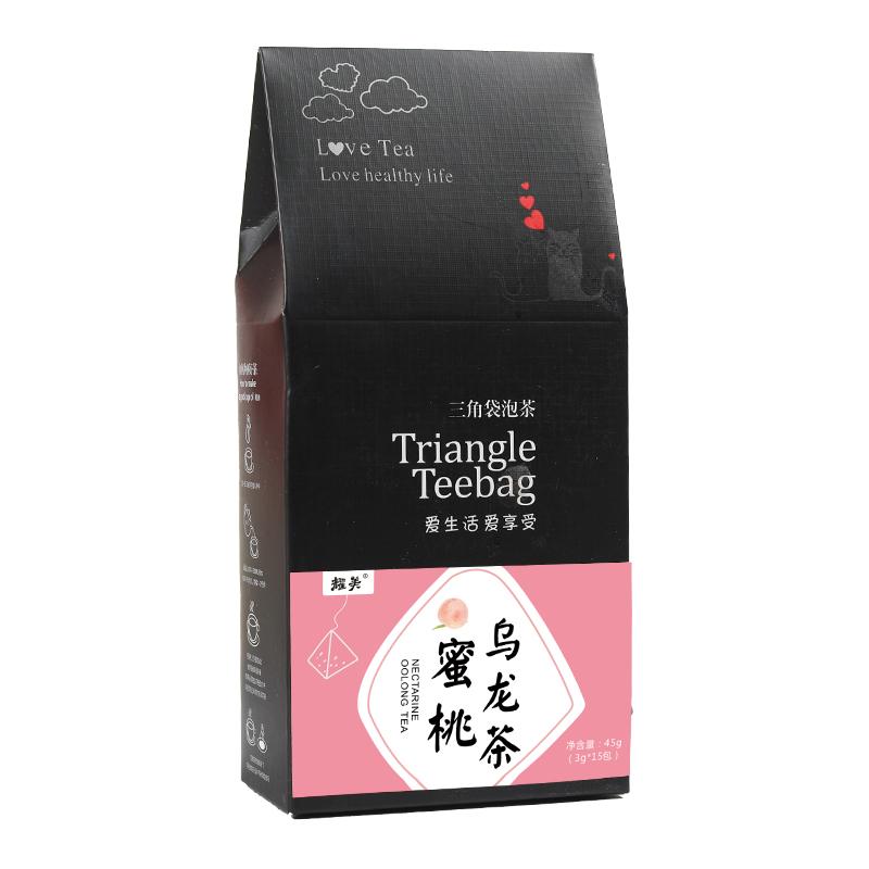 蜜桃乌龙茶包蜜白桃水果茶绿茶花茶组学生養生茶叶内15小包