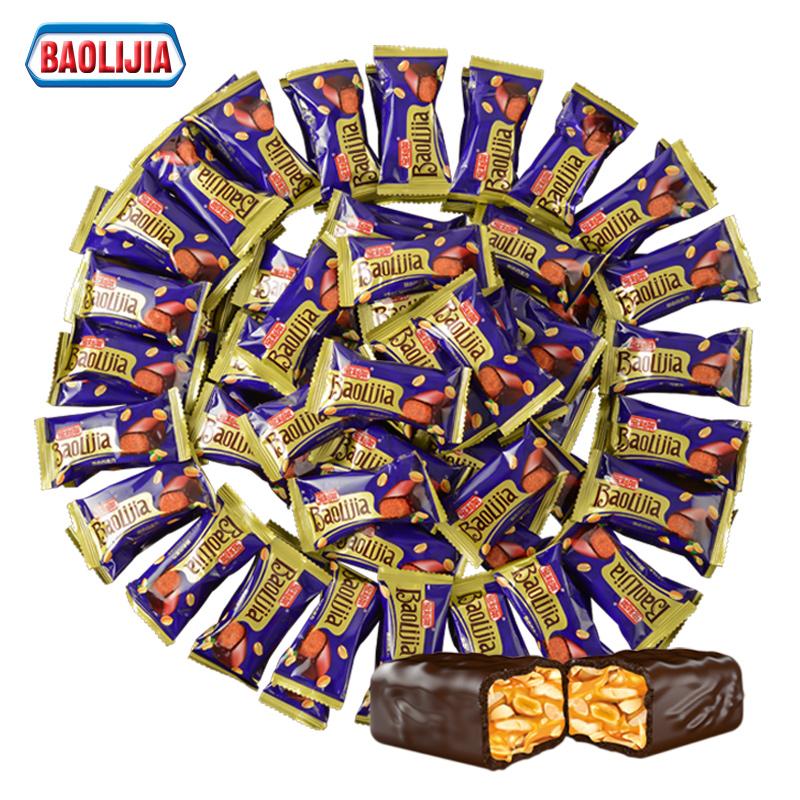 宝利架花生夹心巧克力糖