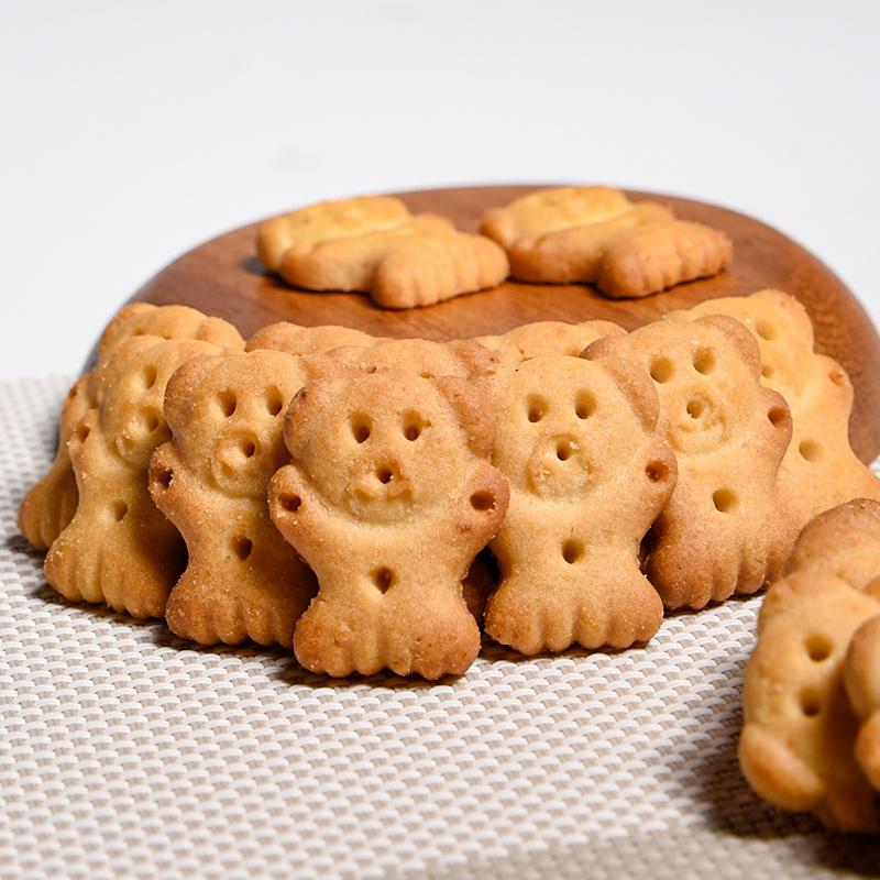 零趣小熊字饼干整箱网红休闲小包装儿童手指饼追剧好吃的零食品5