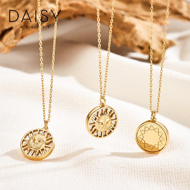 银项链女小众设计感锁骨链 BEAUTY DAISY 英国 天 30 薇娅推荐预售