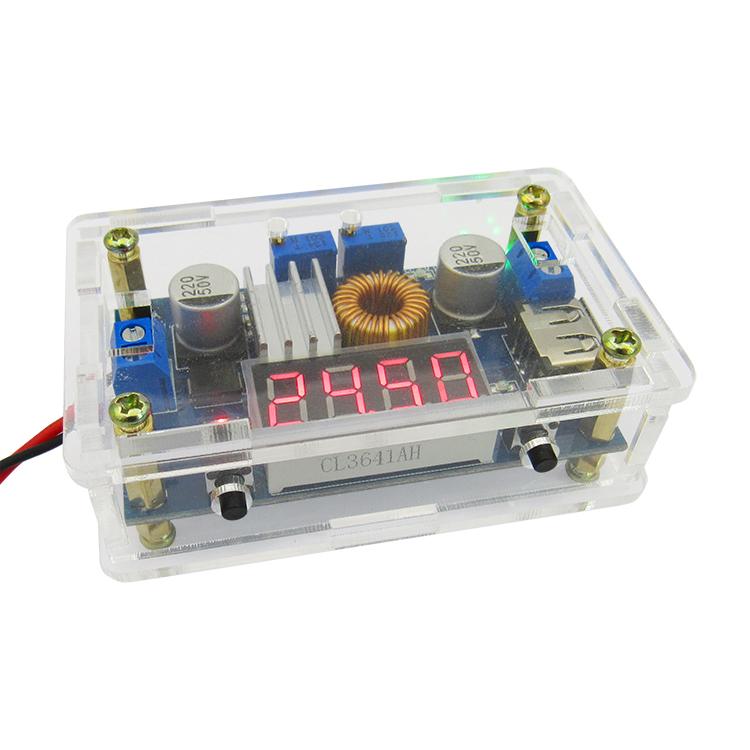 5A恒压恒流降压电源模块电压电流功率显示外壳LED驱动锂电池充电