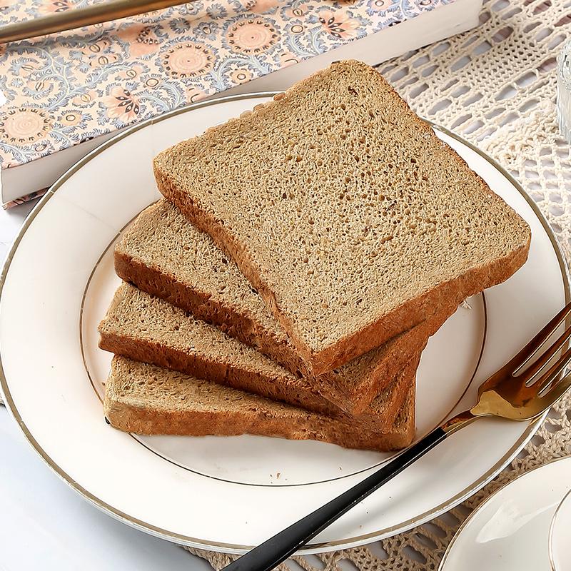 黑麦全麦面包整箱欧包吐司代餐饱腹0无糖精早餐低脂肪热量零食品 No.3