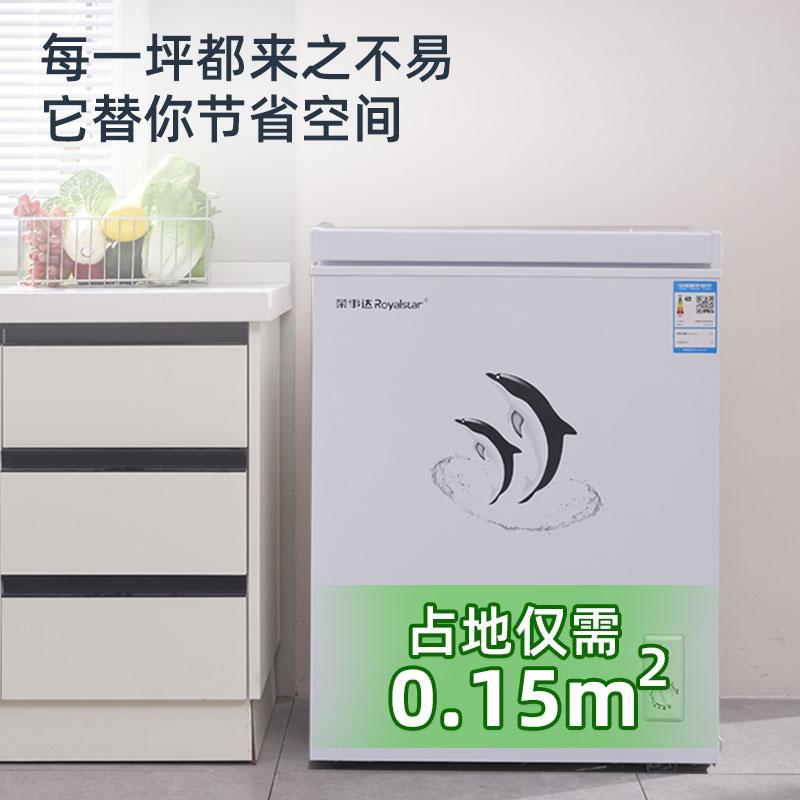 小冷柜家用商用大容量冷冻柜迷你冰柜小型保鲜冷藏两用 175L 荣事达