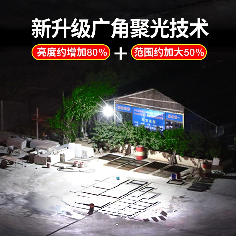 太阳能户外庭院灯超亮人体感应新农村家用室内外照明防水led路灯