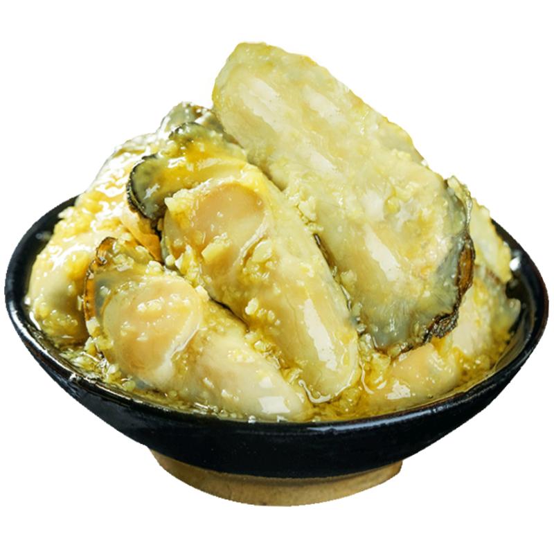 蒜蓉生蚝肉海鲜熟食 260g*2罐 38元包邮
