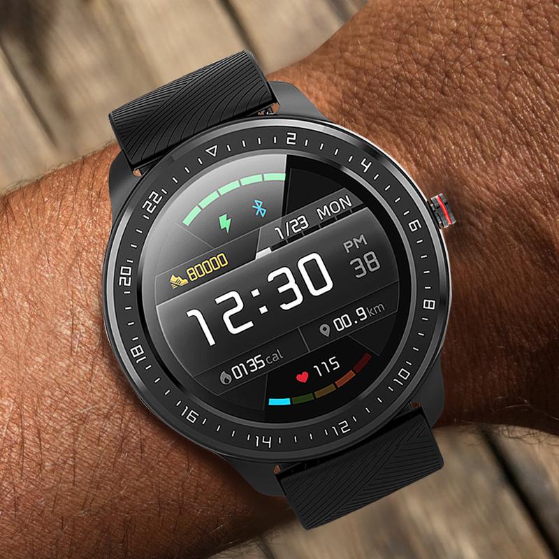 手表男账动智能电子手表小米华为通用多功能防水机械黑科技 SIOYI