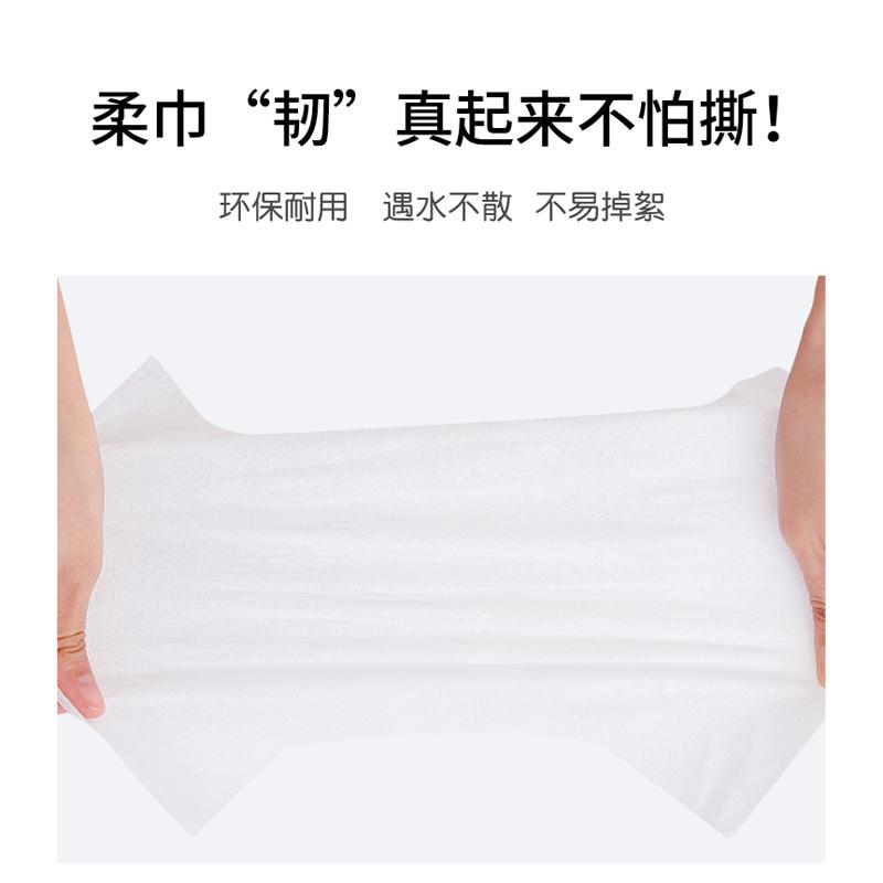FulCotton 棉柔世家 婴儿棉柔巾 100片 6包 29.9元包邮(需用券)(图1)