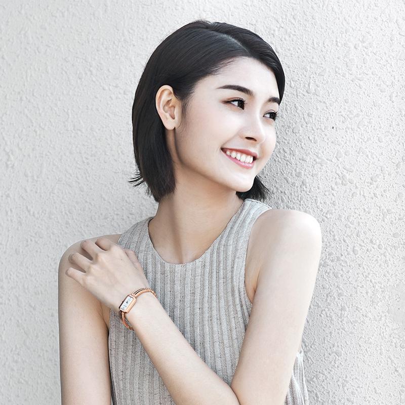 天王手表女时尚正品情人节送女朋友礼石英女士腕表礼盒3371