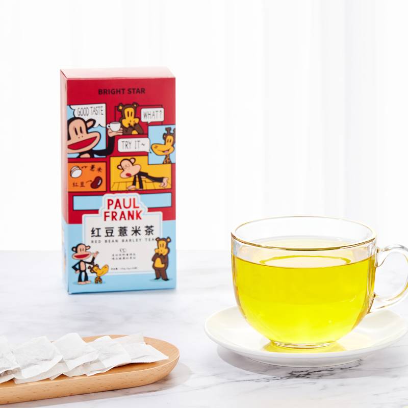 PaulFrank大嘴猴红豆薏米茶5g*30袋花茶组合芡实赤小豆薏苡仁茶叶