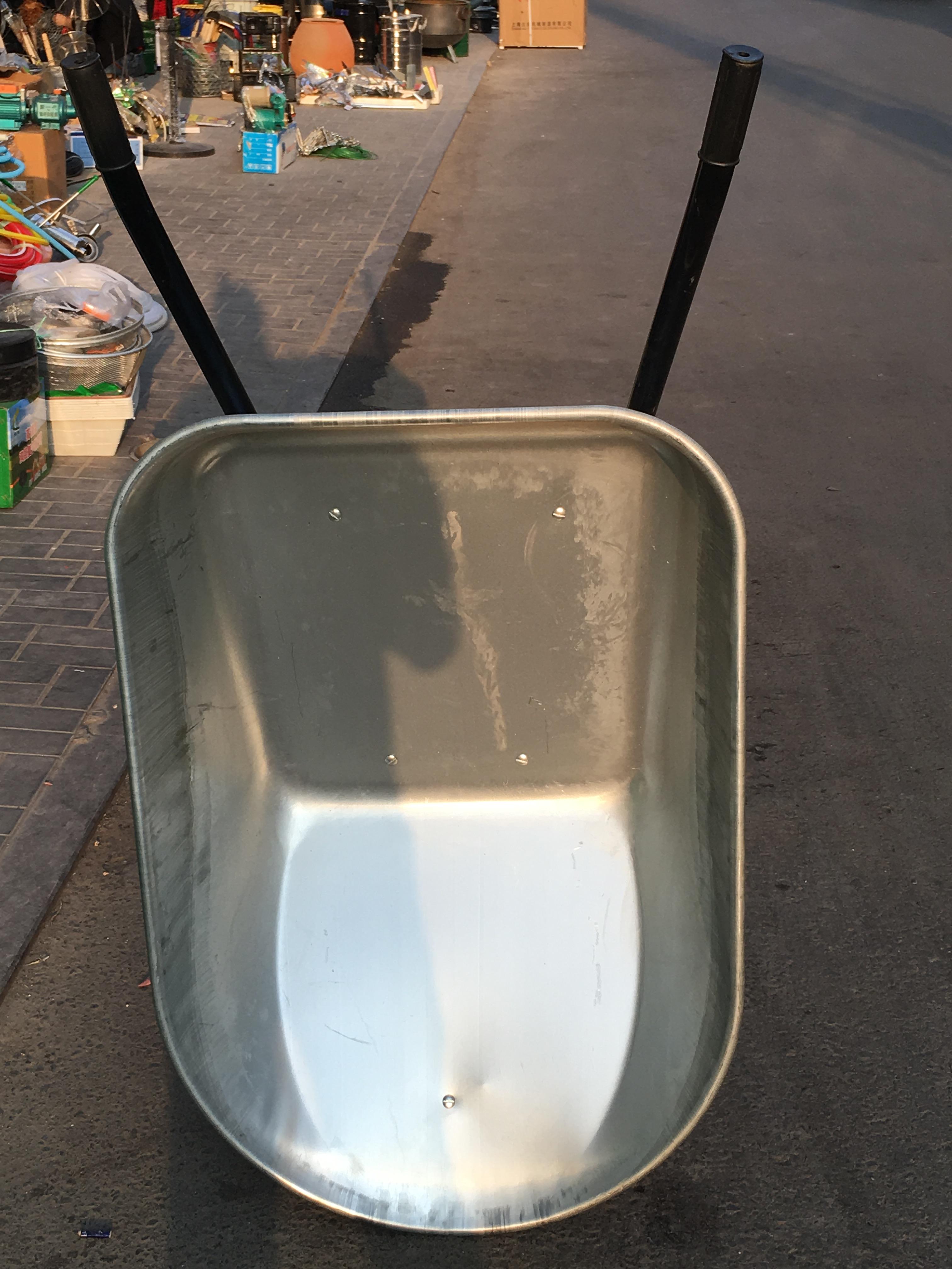 包邮 农用独轮小推车货车推沙泥土花园垃圾建筑肥料工地手工具