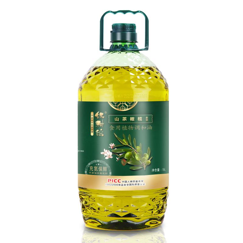 红耕谣山茶橄榄食用油5L