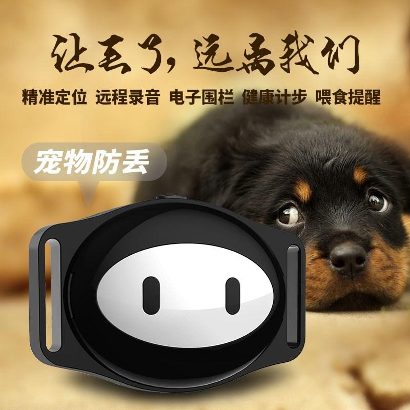 厂家 宠物定位追踪神器猫咪狗狗项圈防丢失定位器 WIFI 无线 gps