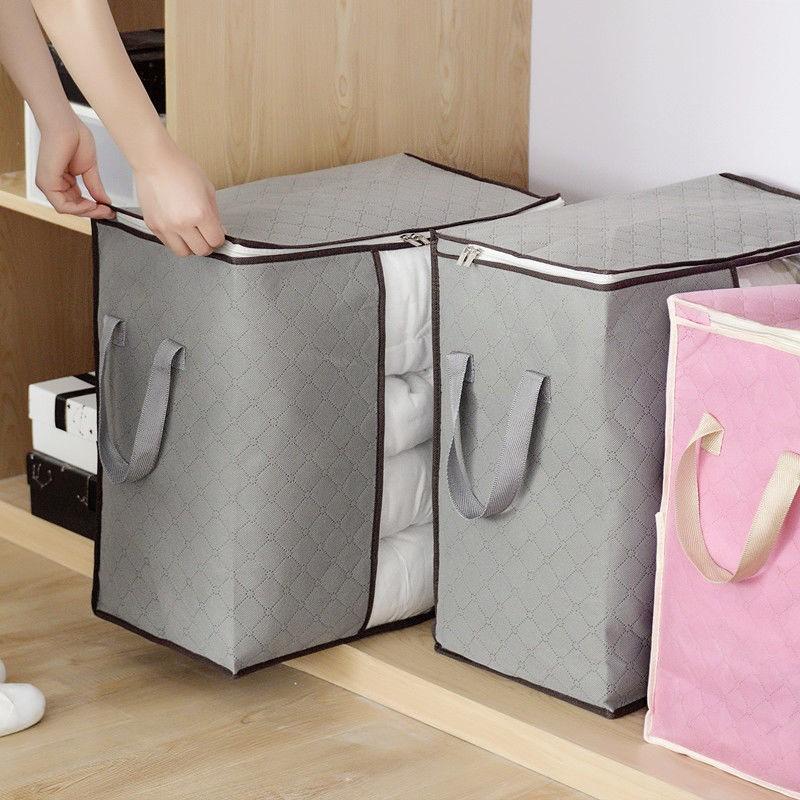 4个服收纳袋棉被整理袋打包神器装被子袋子衣物搬家行李大号防尘