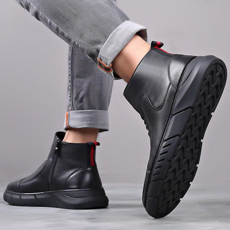 8855 金新商行秋冬上新硬汉马丁靴型男本色