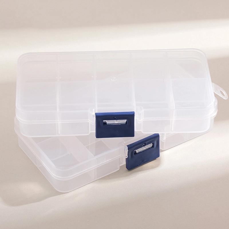需要的时候它就得在:Deli得力 多格零件盒透明塑料收纳盒