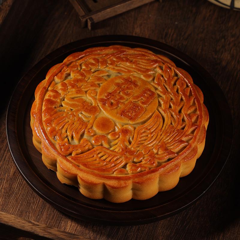 【亚度】广式大月饼500克