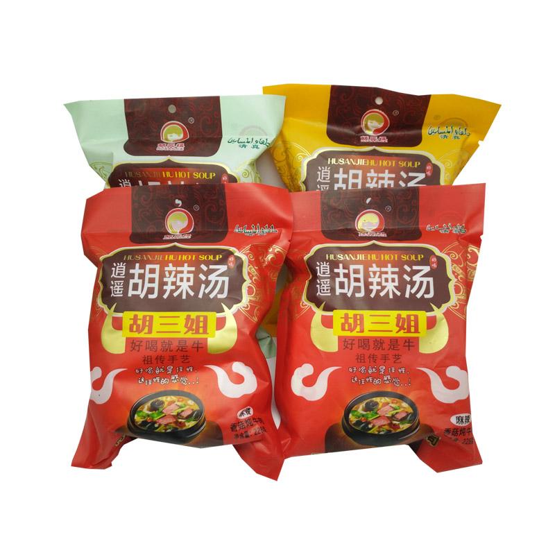 胡三姐逍遥镇胡辣汤精品香菇炖牛肉228gX4包实惠组合套装 3口味