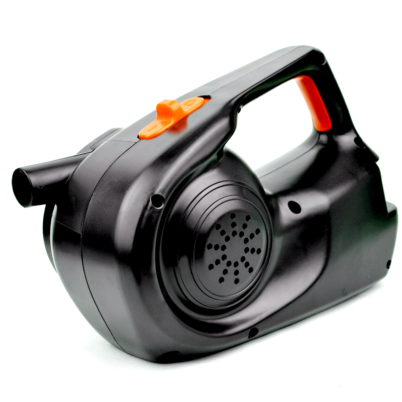 橡皮艇电动充气泵 车载12V100W 大功率高气压 充气船沙池充抽两用