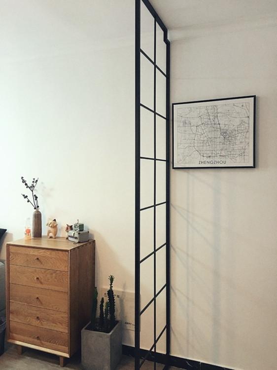 北欧铁艺隔断美式风格客厅屏风时尚简约创意门花窗花镂空玄关订做