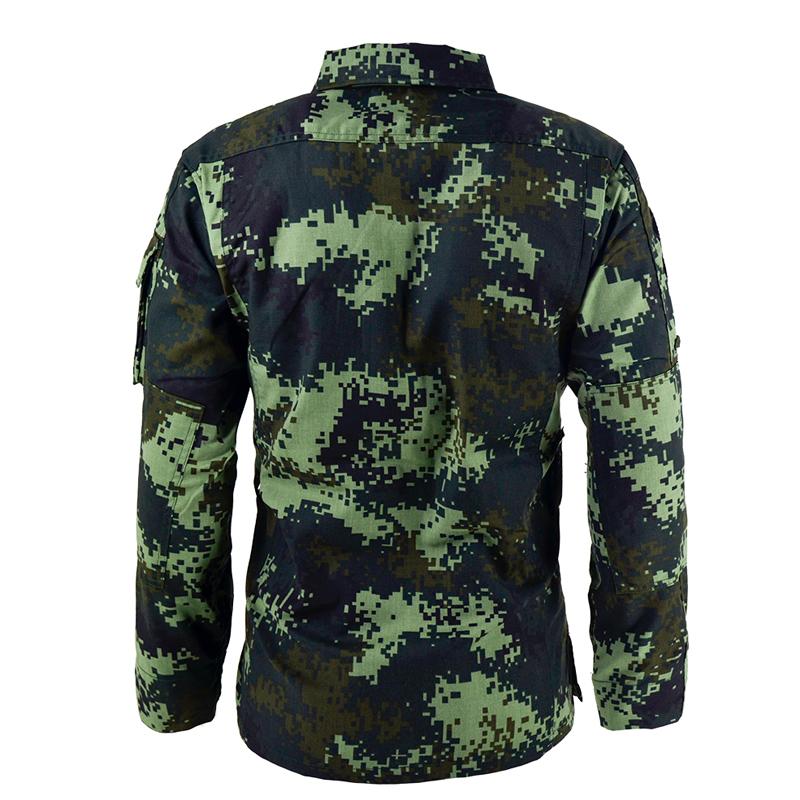 式新款消防迷彩服套装男夏季耐磨薄款特种兵武夏迷彩作训服 16 正品