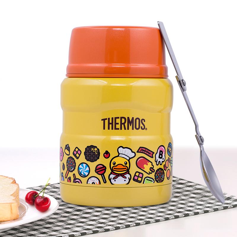 膳魔師 不鏽鋼 保溫 燜燒杯 SK-3001 大黃鴨 食物罐日式便當盒