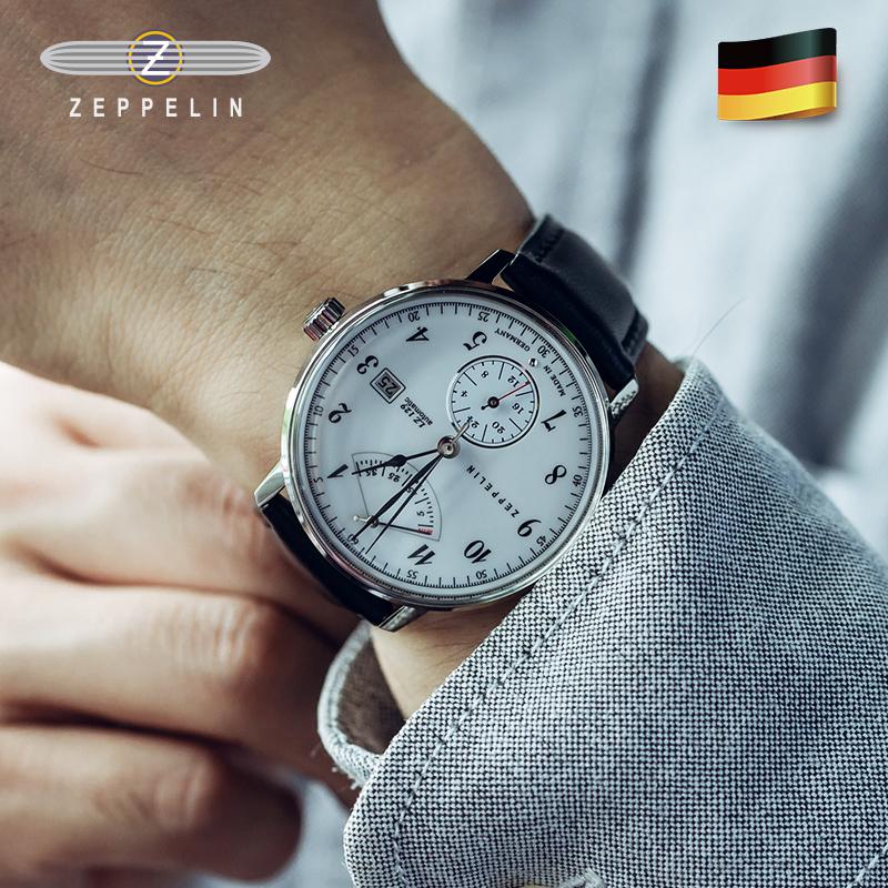 齐博林德国手表男商务腕表能量显示品牌自动机械男士手表7060-1